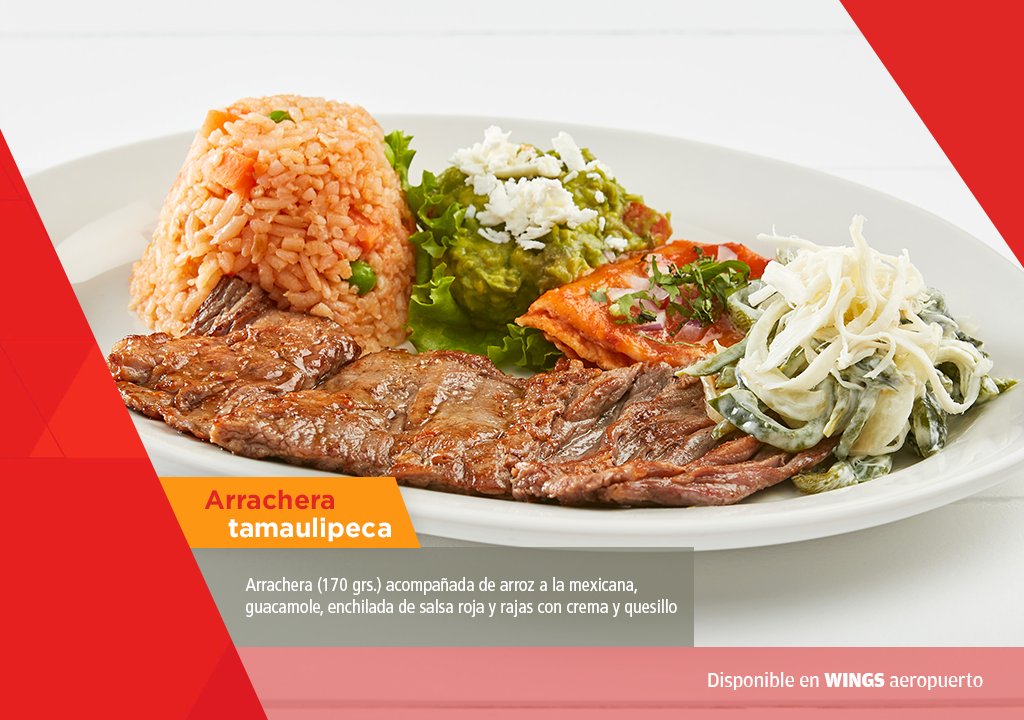Arrachera Tamaulipeca WIngs